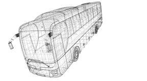Autobus Royalty-vrije Stock Afbeelding
