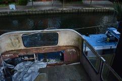 Autobus abandonné Image libre de droits