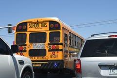 autobus amerykańskiej szkoły Zdjęcie Stock