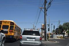 autobus amerykańskiej szkoły Obraz Stock