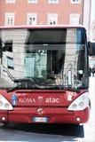 Autobus d'Atac à Rome, Italie images libres de droits