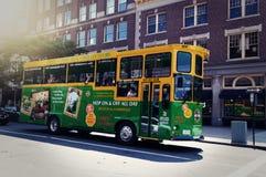 Autobus de Boston image libre de droits