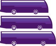 Autobus de bout droit Images libres de droits