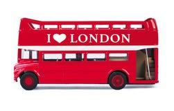 Autobus de Londres Photos libres de droits