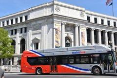 Autobus de métro à Washington, C.C image libre de droits
