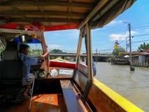 Autobus de rivière image libre de droits