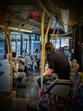 Autobus de STM image stock