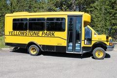 Autobus de transport en parc national de Yellowstone Photo libre de droits