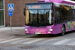 Autobus de ville Images stock