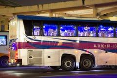 Autobus de Volvo de société de gouvernement de transport Ligne d'autobus de 15 mètres Image libre de droits