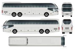 Autobus de voyage de vecteur Image stock