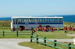 autobus do szkoły Zdjęcia Stock