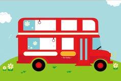 autobus do szkoły royalty ilustracja