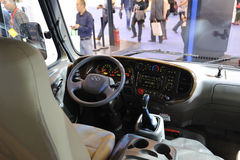 Autobus du COMTÉ de la Corée du Sud Hyundai Photos libres de droits