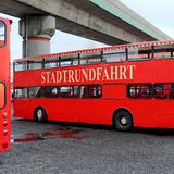 Autobus a due piani 1b Fotografia Stock