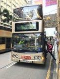 Autobus 26 en Hong Kong Images libres de droits