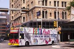 Autobus guidé à San Antonio, le Texas image libre de droits