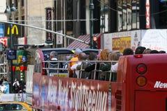 Autobus guidé dans NY Photo libre de droits