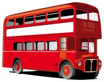 profil rouge de bus de londres photos stock image 2833683. Black Bedroom Furniture Sets. Home Design Ideas