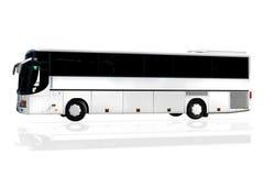 autobus odizolowywający Fotografia Stock