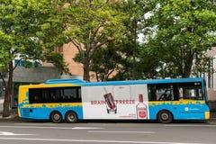 Autobus public à Auckland Images libres de droits