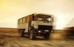 Autobus pustynia Obraz Royalty Free