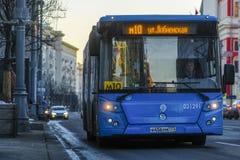 Autobus régulier à Moscou photos stock