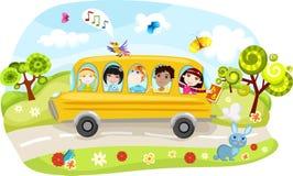 Autobus scolaire Photographie stock libre de droits