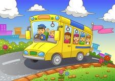 Autobus scolaire illustration stock