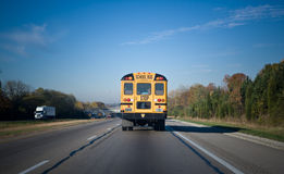 Autobus scolaire Photo stock