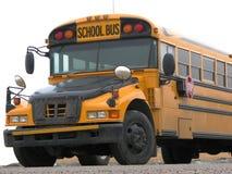 Autobus scolaire - frontal Image libre de droits