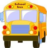 Autobus scolaire jaune Images stock