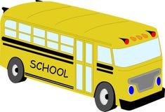 Autobus scolaire jaune Photographie stock