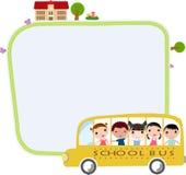 Autobus szkolny Obrazy Royalty Free