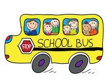 Autobus szkolny Fotografia Royalty Free