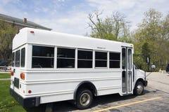 autobus szkolny white Obrazy Royalty Free