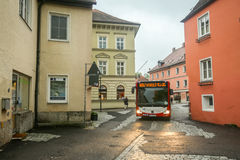 Autobus w Freising Zdjęcia Stock
