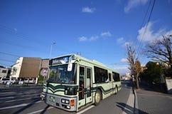 Autobus w Kyoto, Japonia Obraz Royalty Free