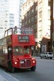 autobusowa decker kopii London czerwień obraz royalty free