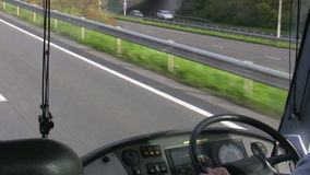 Autobusowa deska rozdzielcza zdjęcie wideo