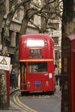 autobusowa London mistrza trasa Zdjęcie Royalty Free