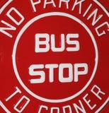 autobusowa przerwa Obraz Royalty Free