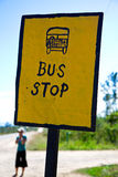 autobusowa przerwa Fotografia Royalty Free