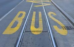 Autobusowa przerwa Obraz Stock
