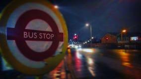 Autobusowa przerwa Obrazy Stock