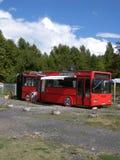 Autobusowa restauracja Fotografia Royalty Free