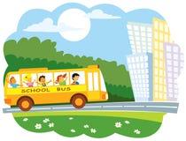 autobusowa szkoła Zdjęcia Royalty Free