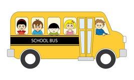 autobusowa szkoła Obraz Stock