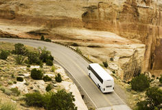 autobusowa wycieczka turysyczna Zdjęcia Royalty Free