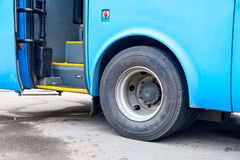 Autobusowi kroki Obrazy Royalty Free